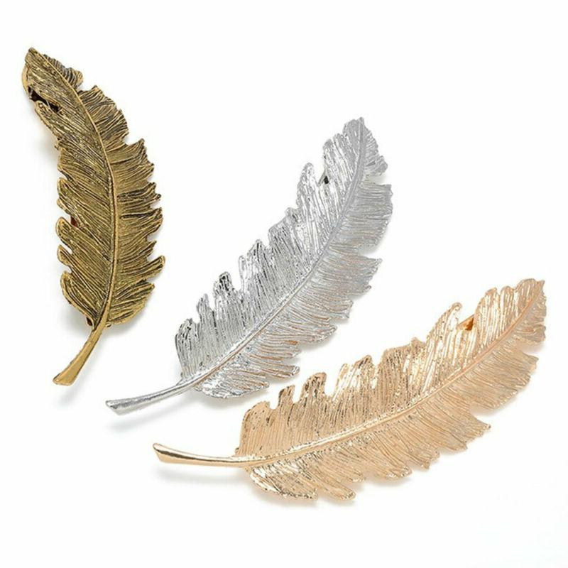 Beauty Gifts Pins Bobby Pin Feather Hair Clip
