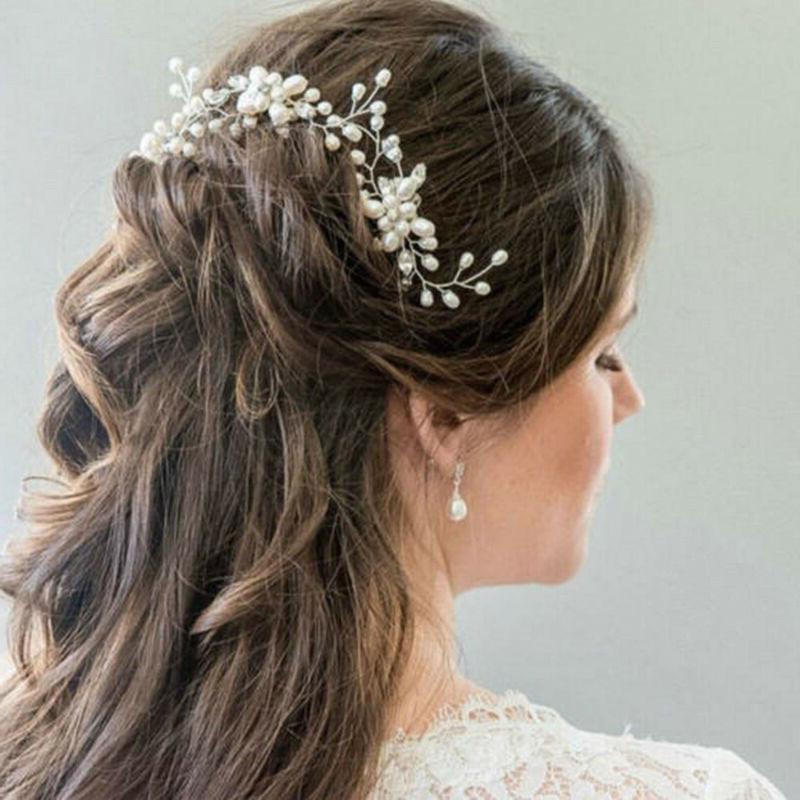 Pearl Crystal Comb Wedding Bridal