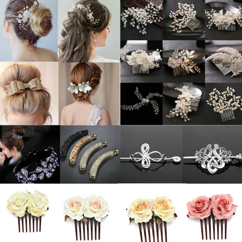 Pearl Pins Side Comb Bridal