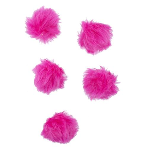 pink faux fur breast cancer