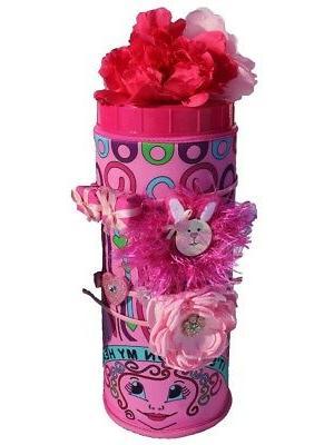 pink headband organizer hair clips holder caddy