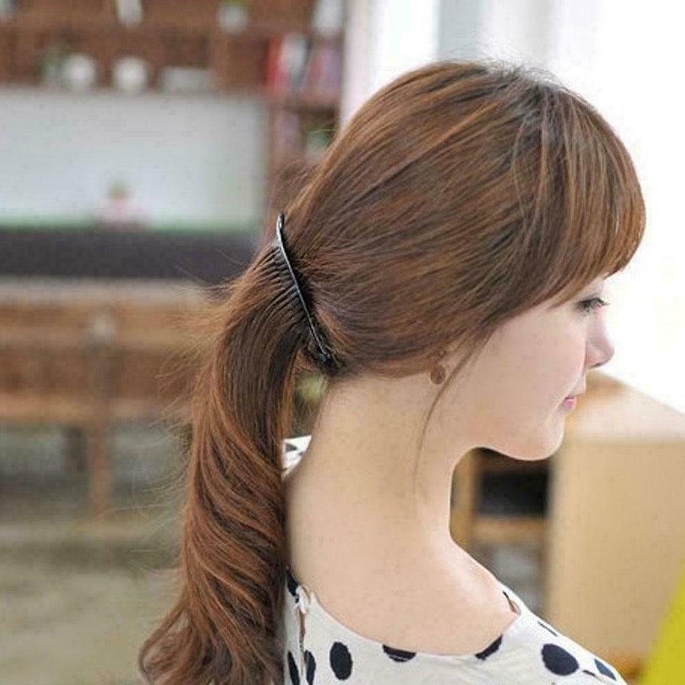 Plain Banana Comb Clips Hair Fashion comb Accesso