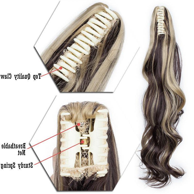 Ponytail Hair Pony Real Human Hair