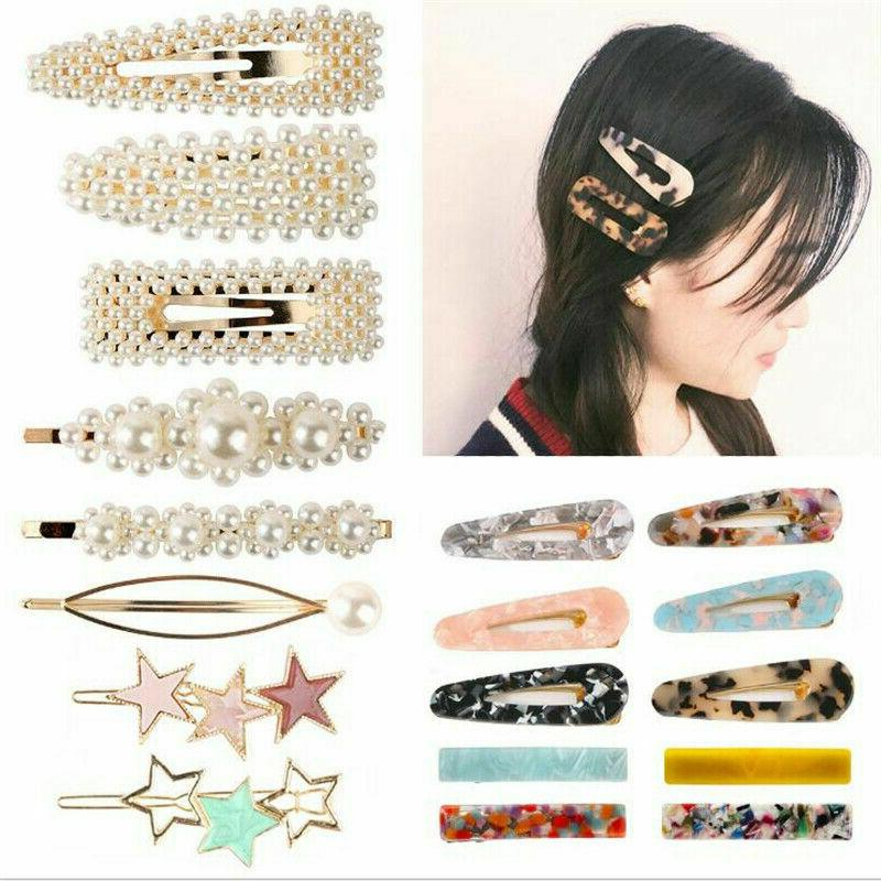 Popular Women Clip Snap Hairpin Hair