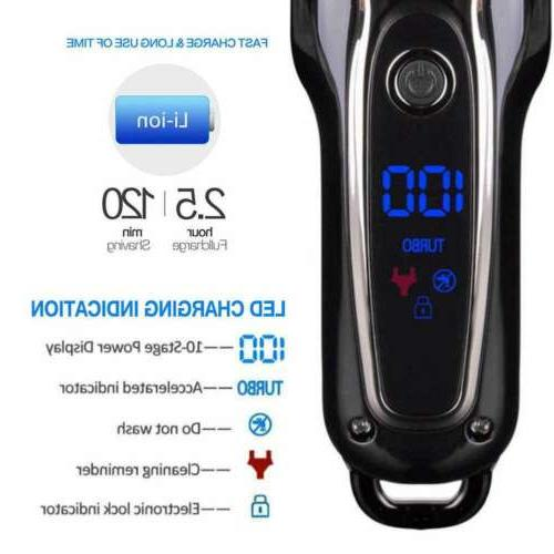 Professional Cordless Electric Grooming Turbo