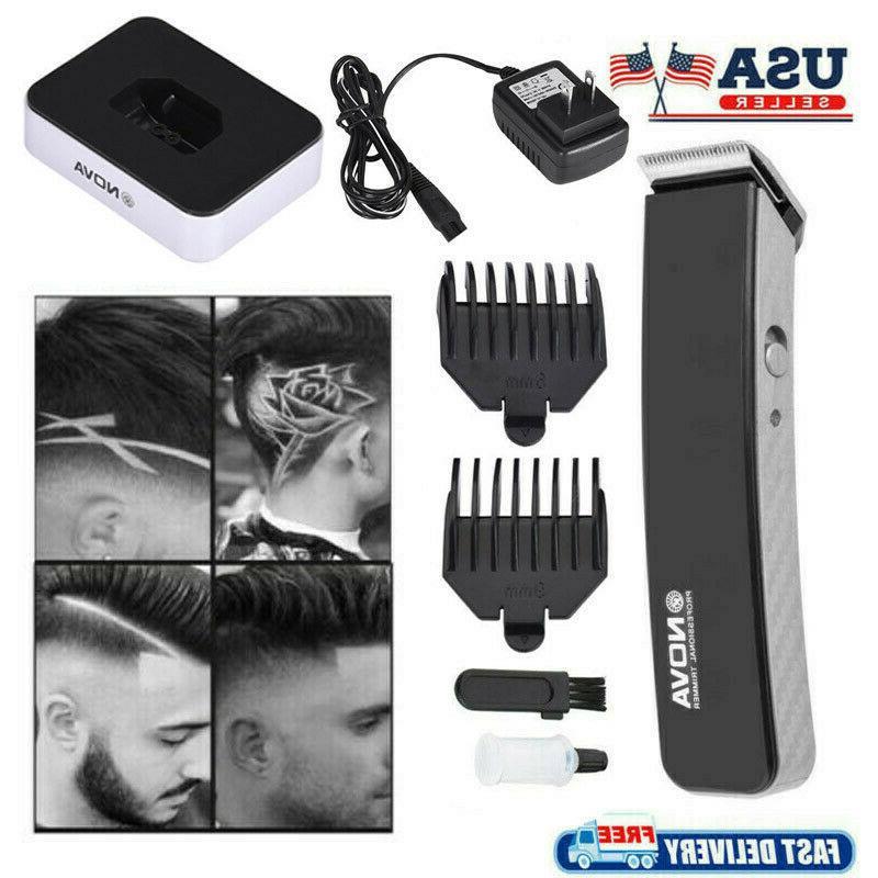 US Men Hair Clipper Cutter Machine Beard Barber Razor