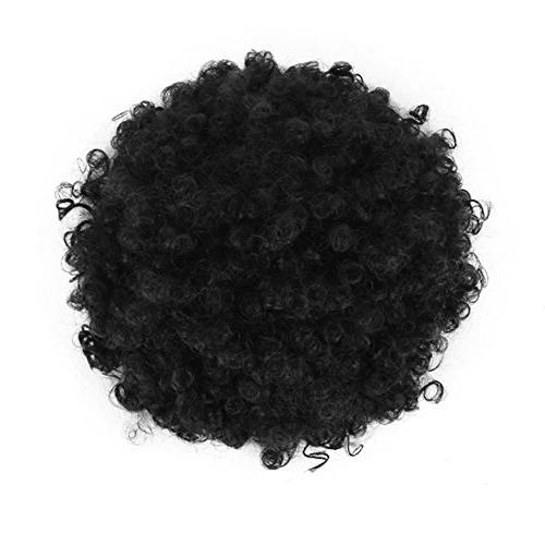 High Drawstring Curly Tail in Hair Made of Kanekalon Fiber Ponytail Wrap Hair with Clips