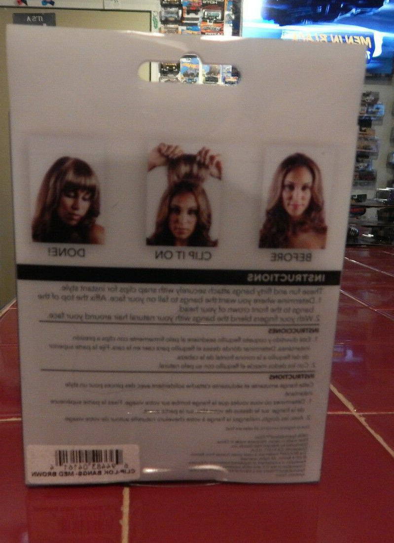 Revlon Hair-Clip-Lok Brown-FREE