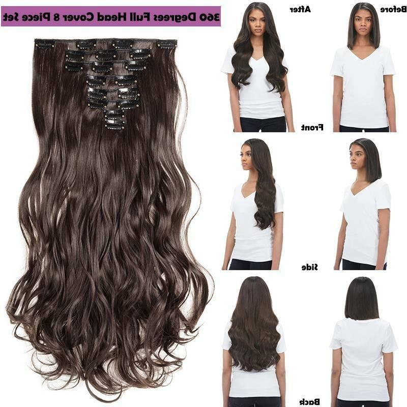 US 8 In Hair Head Real GH