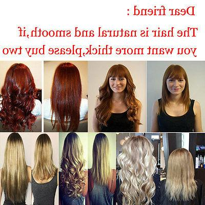 Real in Hair Extensions Pieces Full As