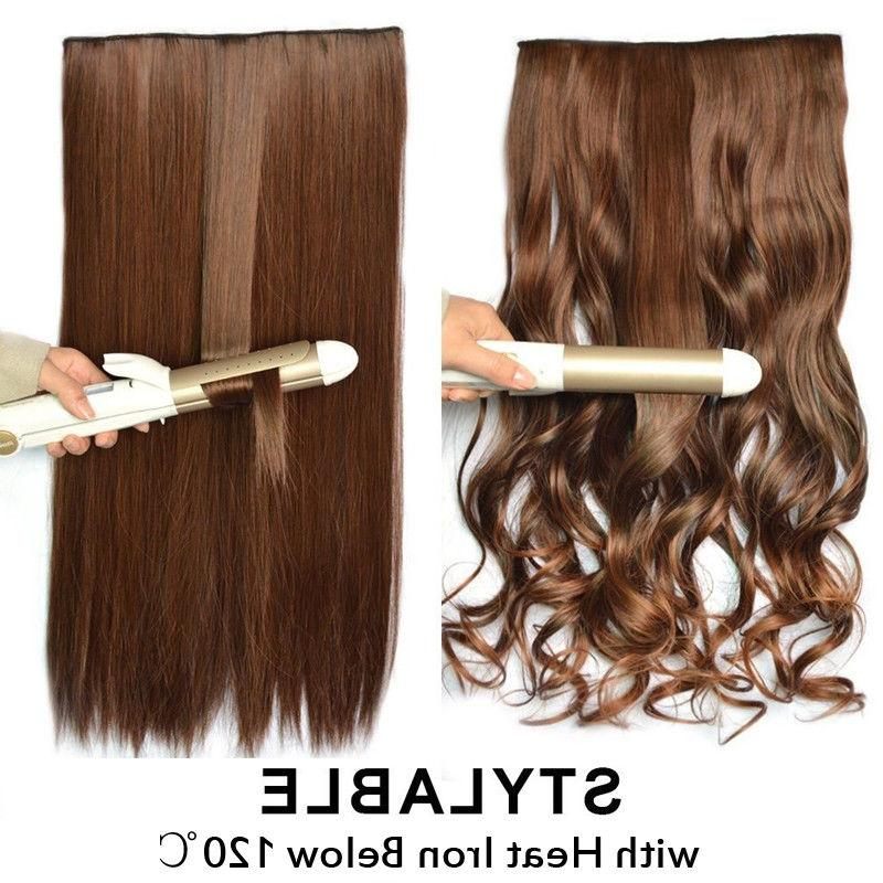 Real Thick 1pcs in Hair Extensions Extension Piece