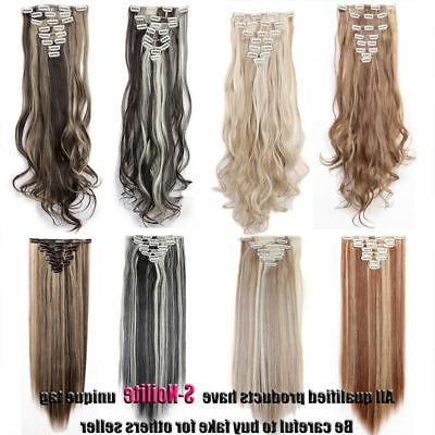 Ombre Pieces In Hair Extensions Real Thick