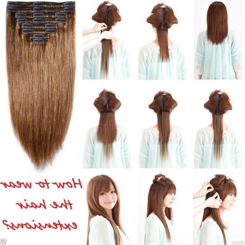 100% Clip Hair as HYT8