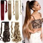 Real Thick Ombre Wrap Around Ponytail Clip in Hair Extension