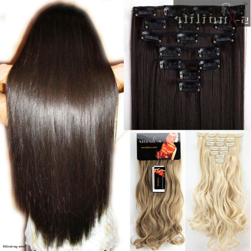 Real Thick remy style for human hair Extensions 16 Clips in