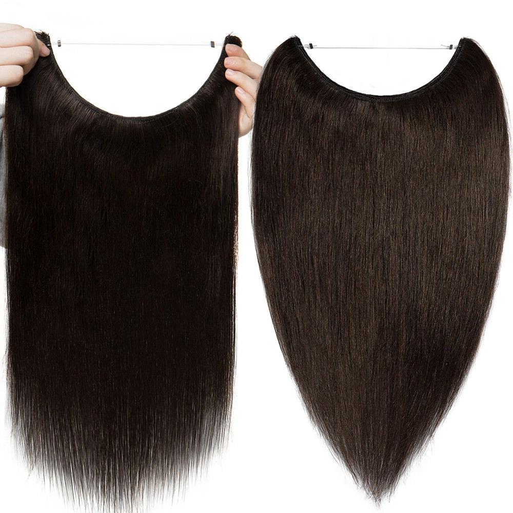 Remy REAL Human Hair Hidden Secret Wire In US
