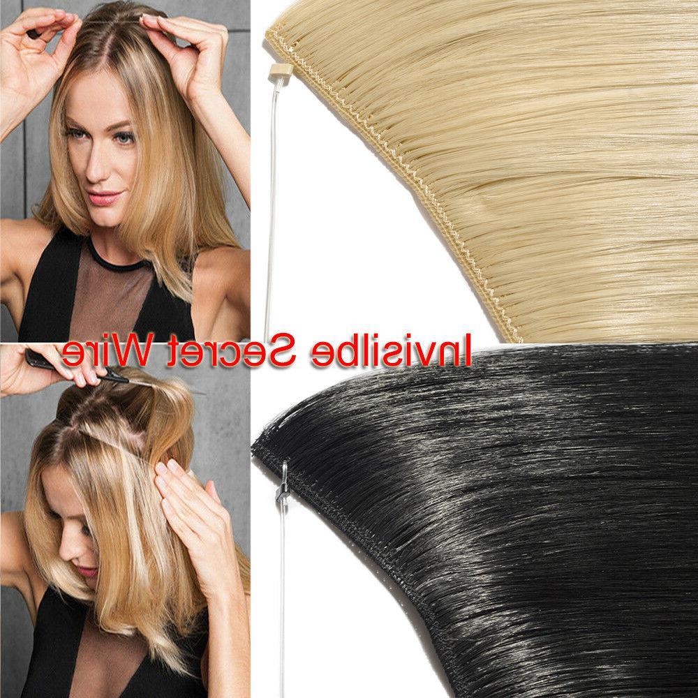 Hair Extensions Invisible Secret Wire NO In
