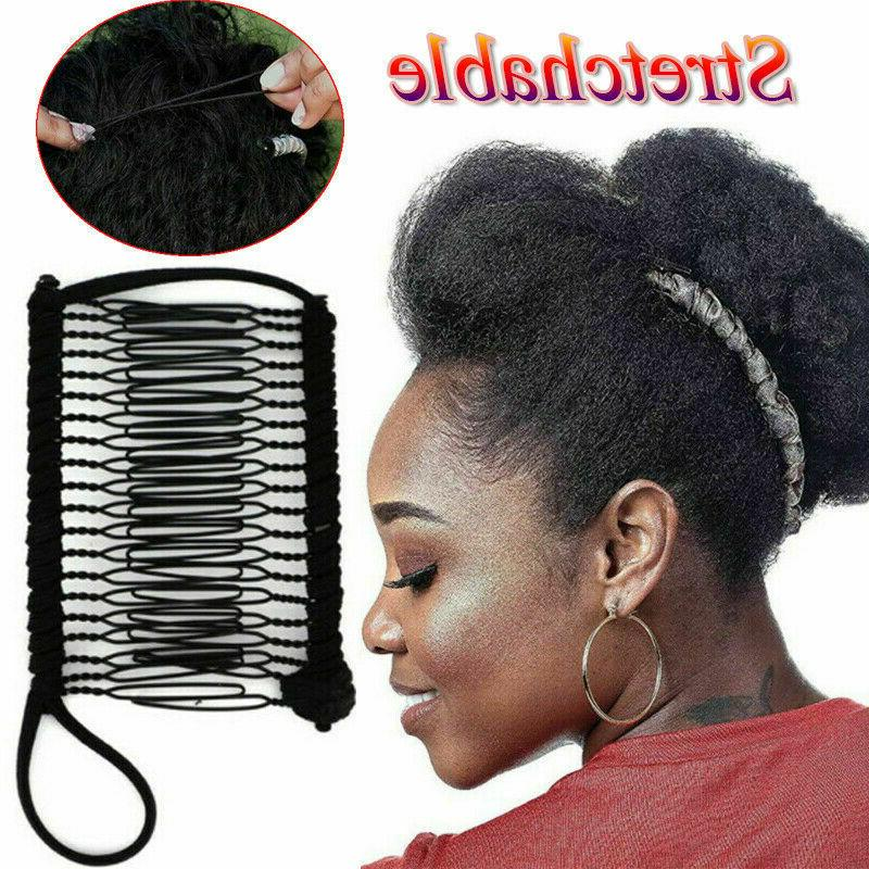 Vintage Banana Hair Magic Stretchable Accessories Clip