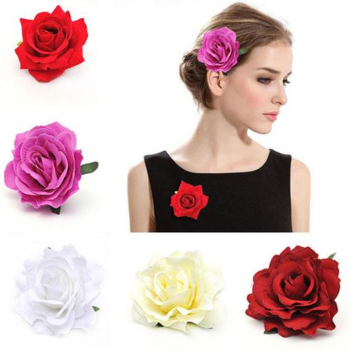 Women's Big Flower Wedding Hairpin Flowery