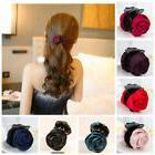 rose flower bridal hair clip hairpin brooch