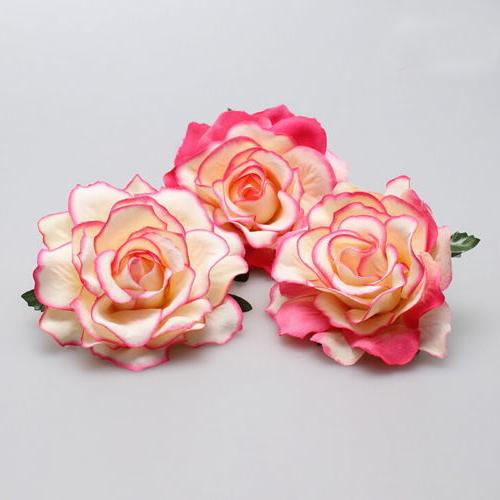 Rose Hairpin Brooch Bridesmaid Party Accessories