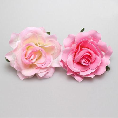Rose Flower Hairpin Brooch Bridesmaid Party