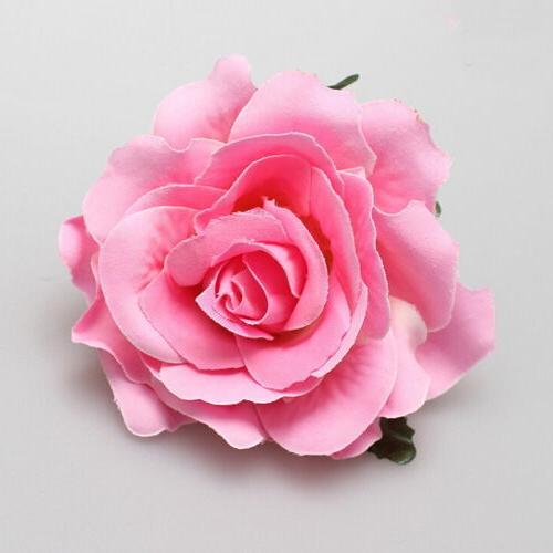 Rose Flower Clip Hairpin Bridal Wedding Bridesmaid Party