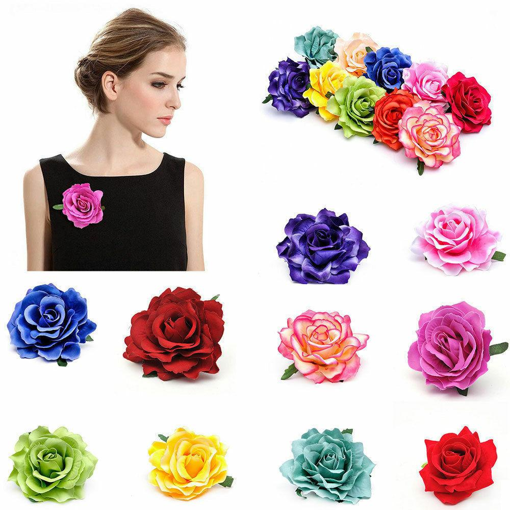 Wedding Bridesmaid Party Accessories Rose Flower Bridal Hair