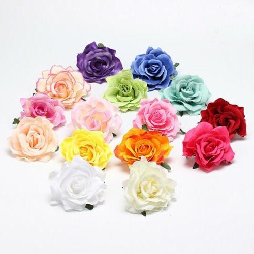 Rose Flower Hairpin Brooch Wedding Bridesmaid