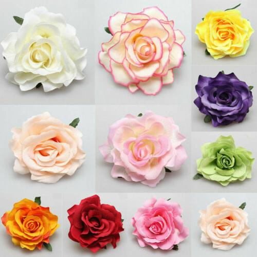 Rose Flower Hairpin Brooch Bridesmaid Accessories