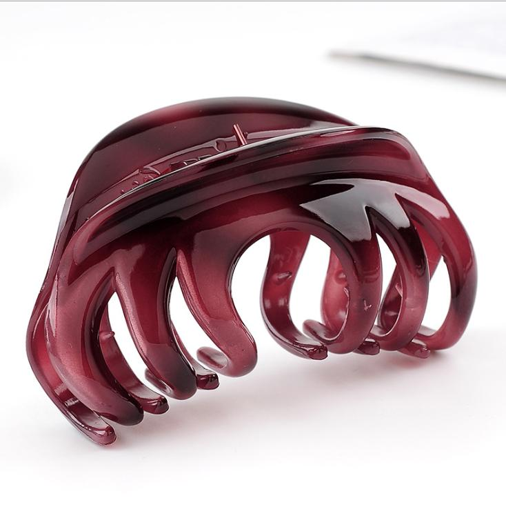 Rosette Clamp Fashion Pattern Hair Clip