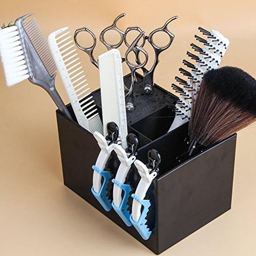Ozzptuu Professional Holder for Stylist Rack Holder Combs Organizer Hair Storage Box