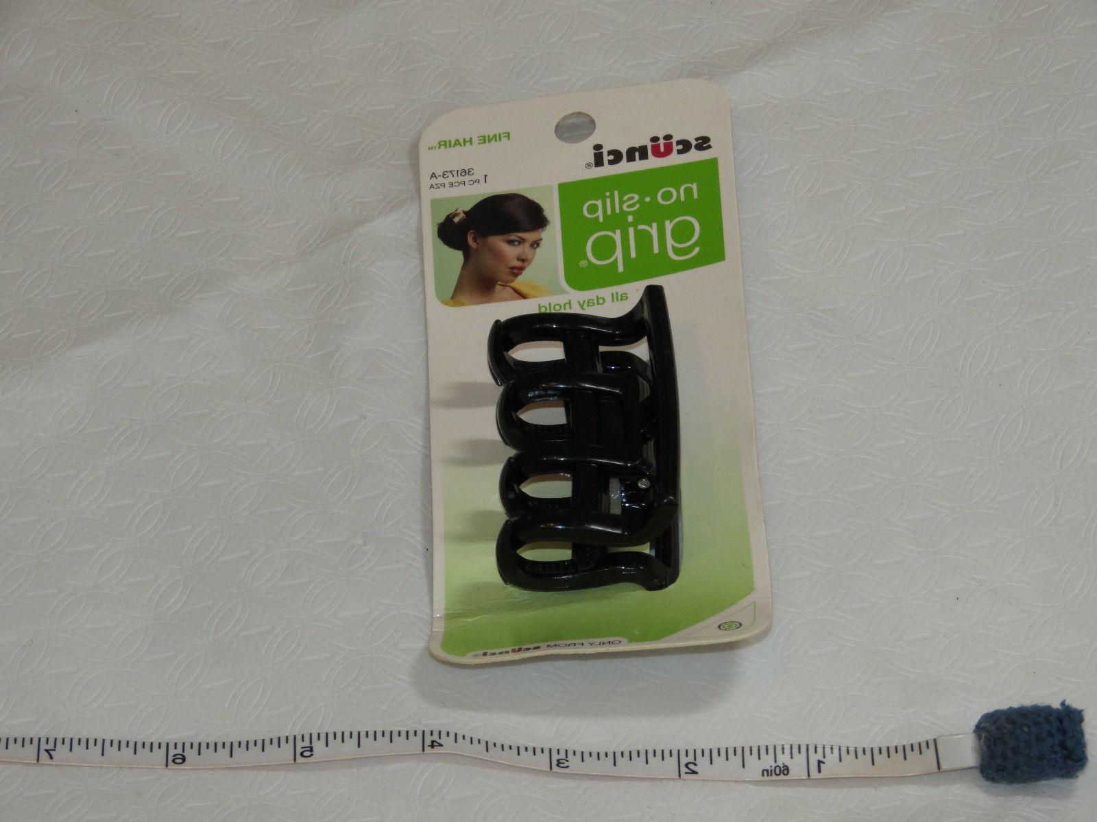 Scunci Slip Hair Fine Hair Hold 36173-A black