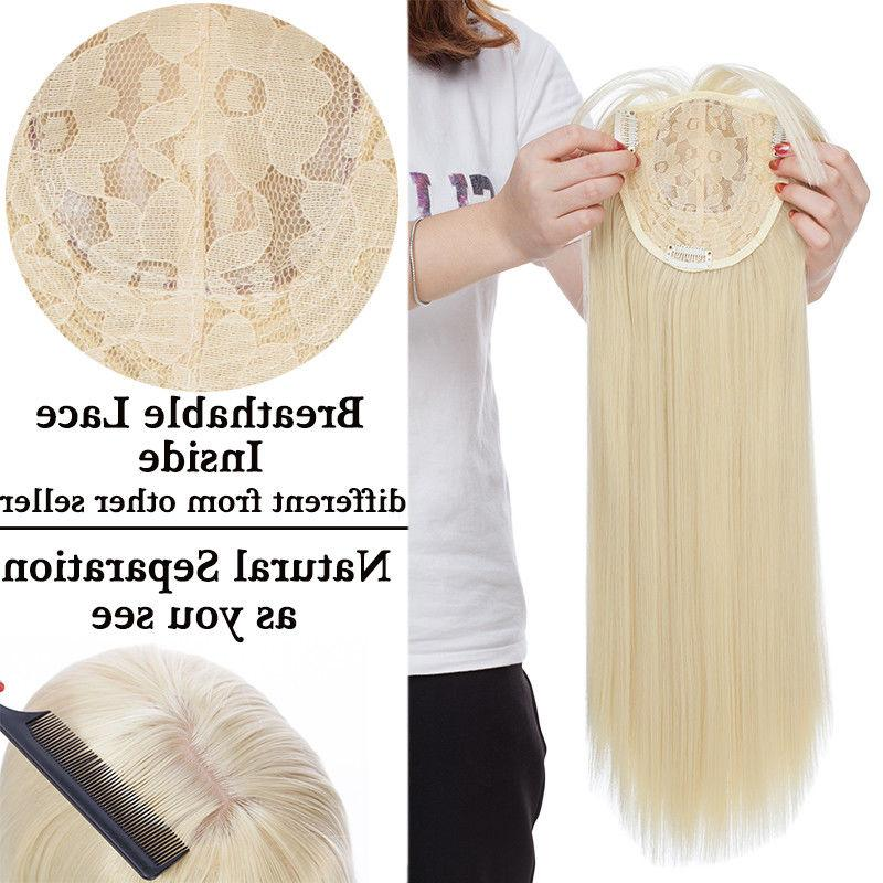 Front Topper Hair In Hair Toupees Long End For