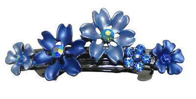 Bella 6 Small Flower Crystal Hair YY86400-12-6