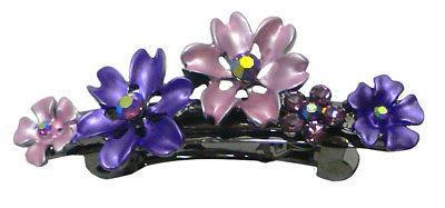 Bella Set of 6 Small Flower Crystal Hair YY86400-12-6