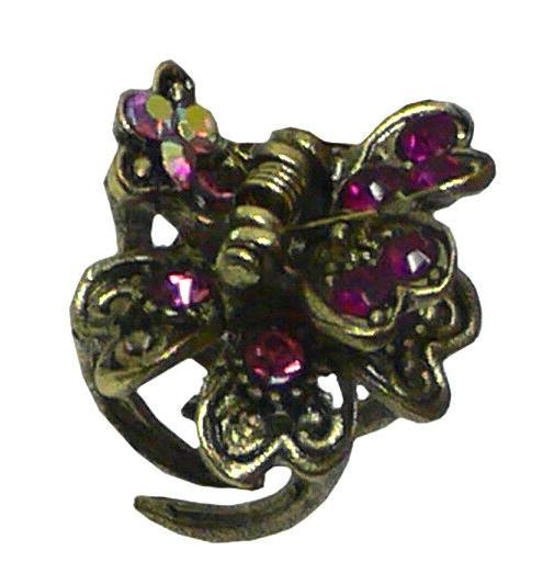 Bella of Mini Metal Clips Tiny Hair Claw Clips