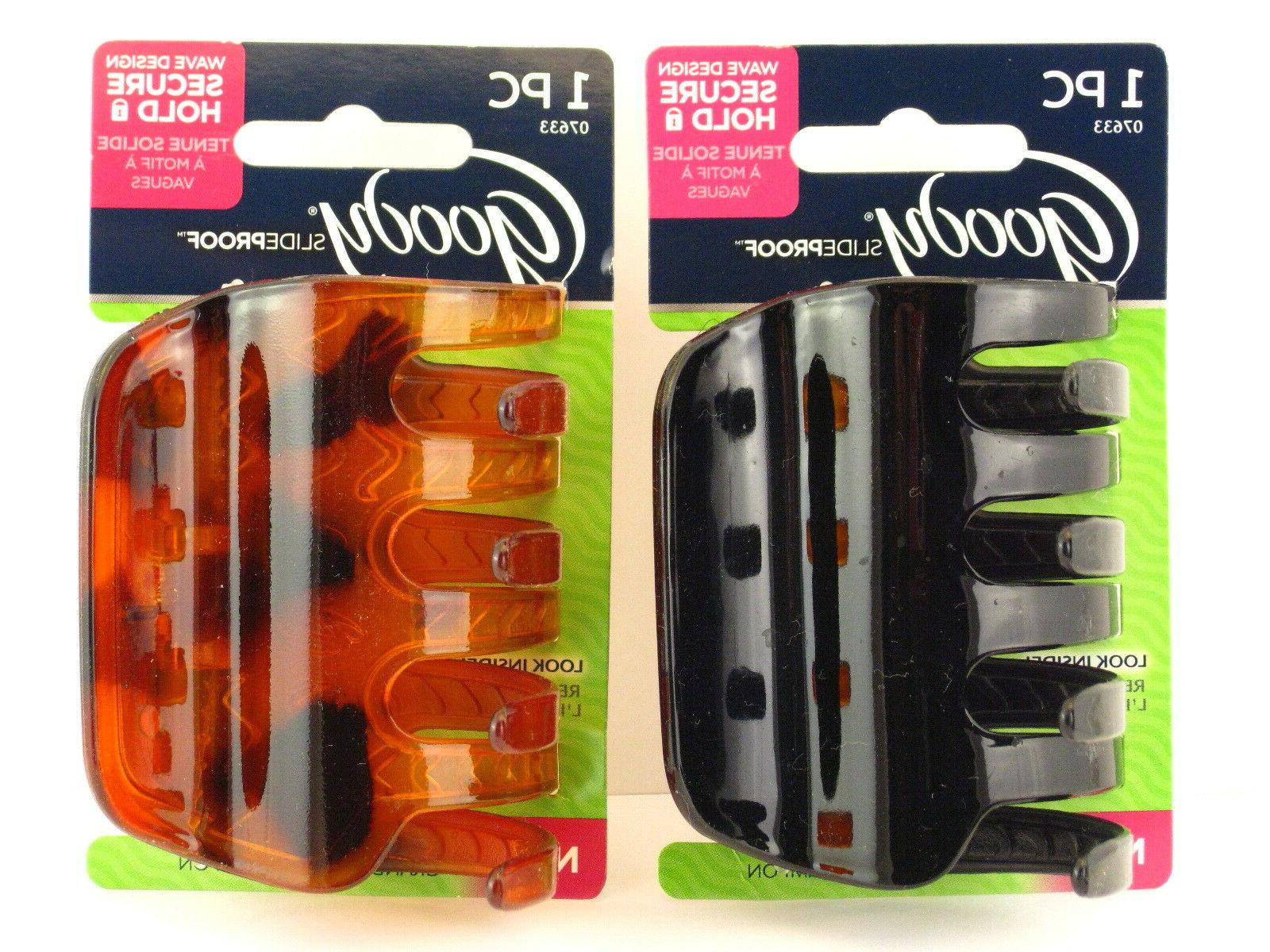 slideproof large claw hair clips 1 pc