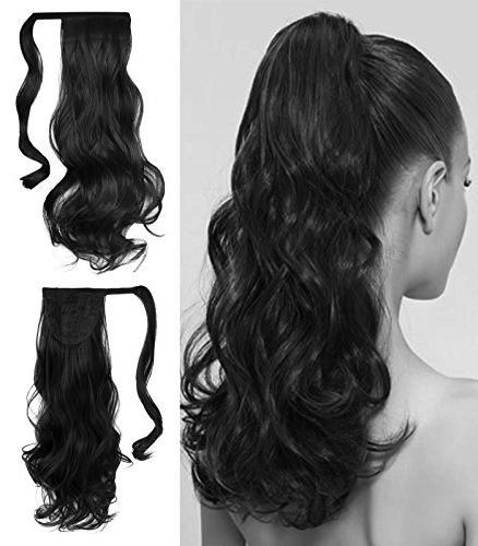 special deal black ponytail clip