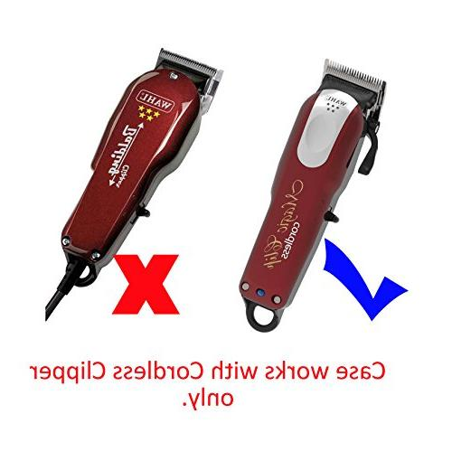 Storage for Wahl Cordless Clip #8148/#8504 with Hair Cutter Cape by Aenllosi