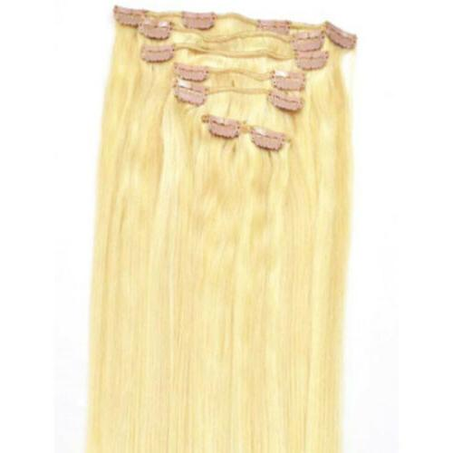 "Straight Remy On Hair Hair 20"" 70g 7pcs"