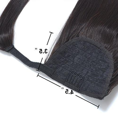 """18"""" Ponytail Hair for Black 1B#"""