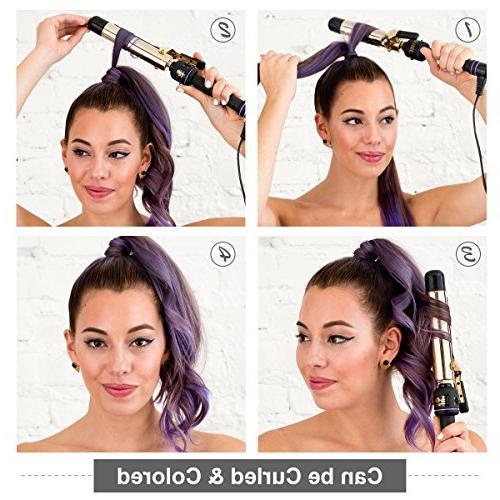"18"" Straight Ponytail Hair for Black"