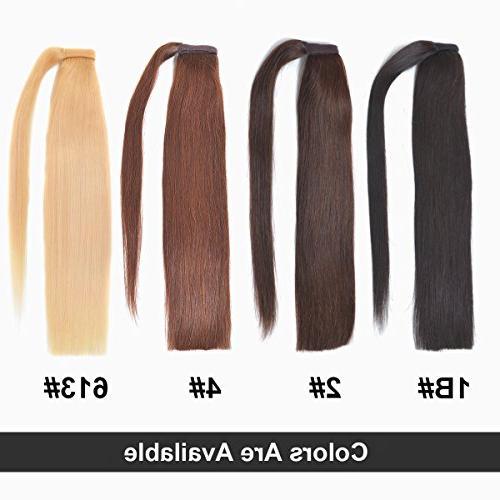 Ponytail Hair for Women 70gram Black 1B#