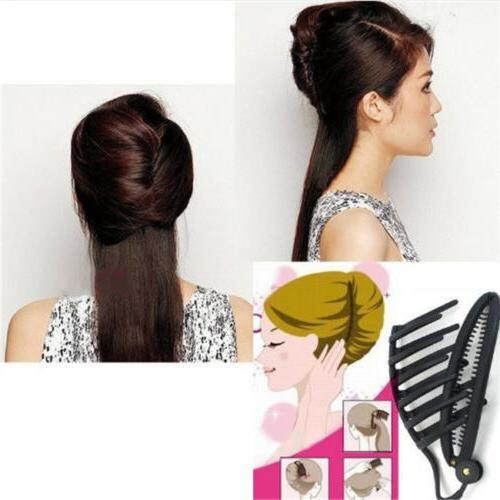 Women Plastic Hair Claws Hairpins