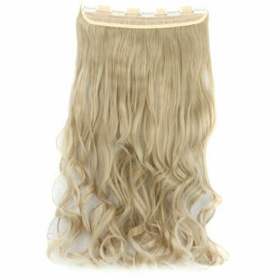 3/4 Hair Extensions Straight Piece Xmas