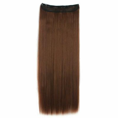 3/4 Hair Straight Extentions Hair Piece Xmas
