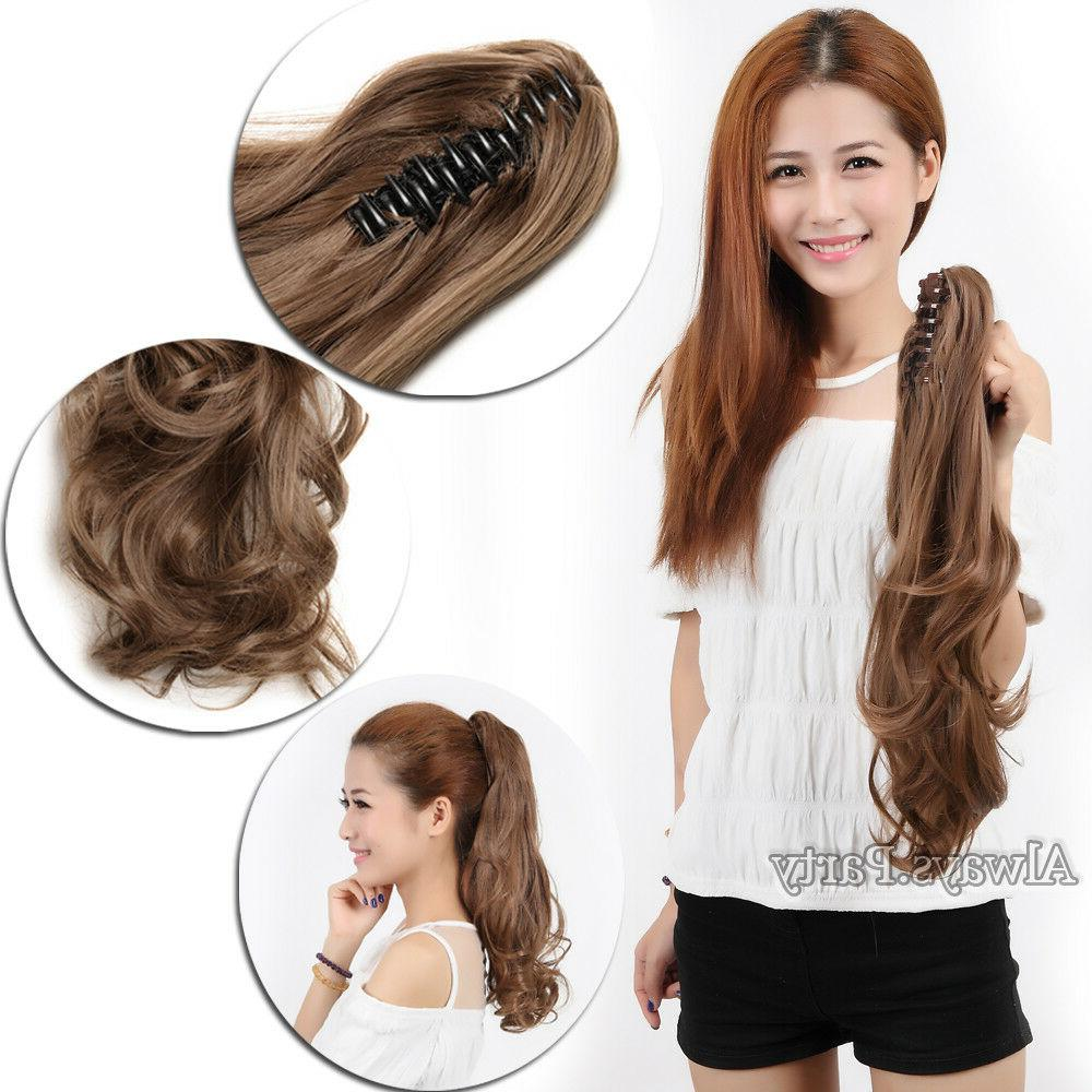 Thick Tail Hair Clip On Human PG