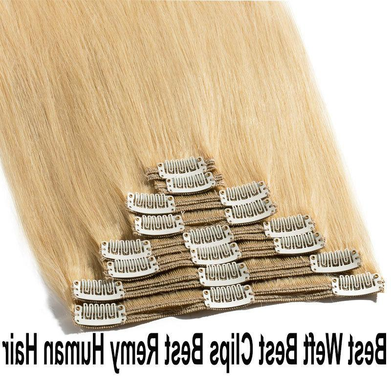 Thick In Real Remy Hair Extensions Full Head highlight US