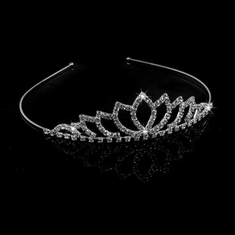 TIARA Headband Hair Princess Wedding Prom Bridal